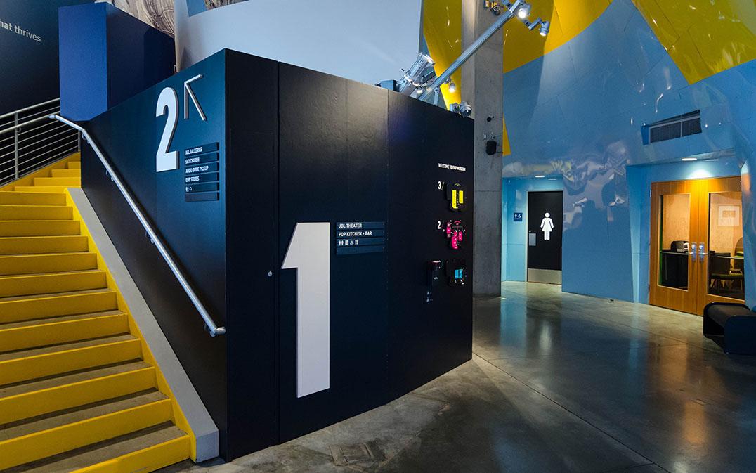 emp博物馆环境指示系统设计 | egd环境图形设计