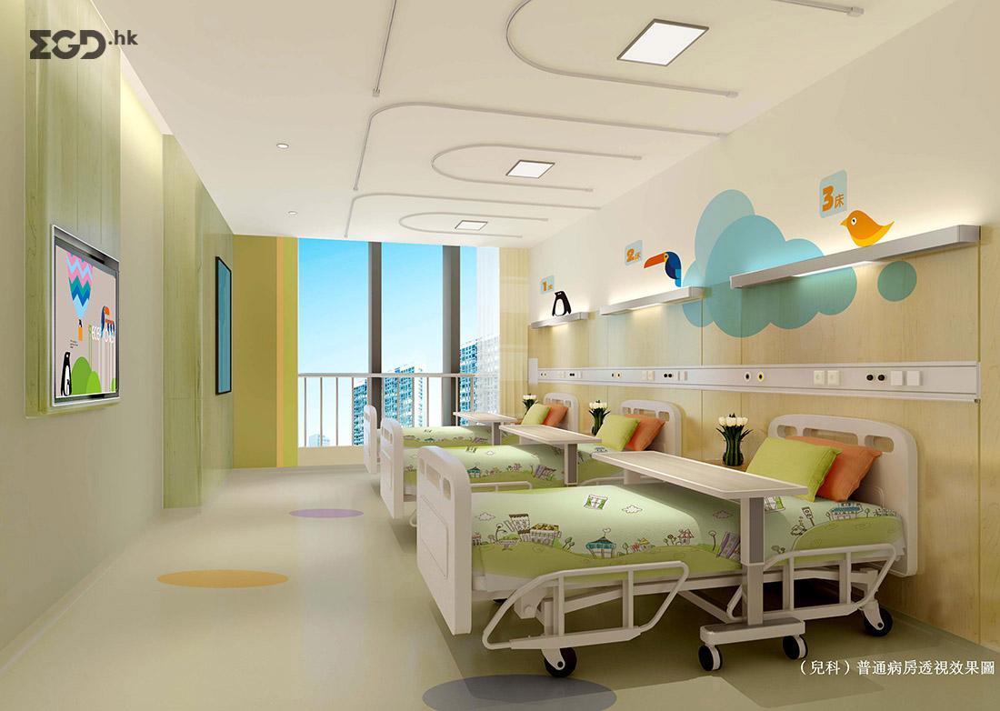义乌市妇幼保健院空间图形设计 © 北京灵顿品牌顾问有限公司