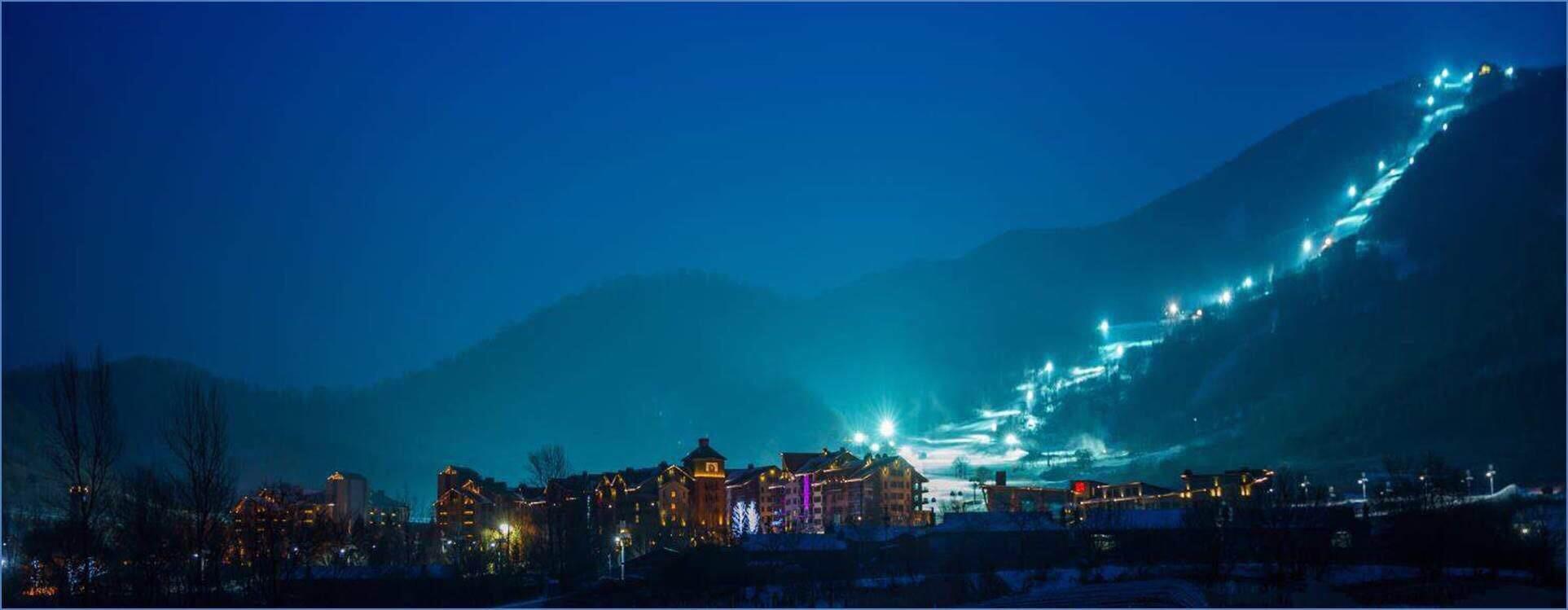 万科松花湖度假区——滑雪场导视系统设计 © 北京图石设计公司