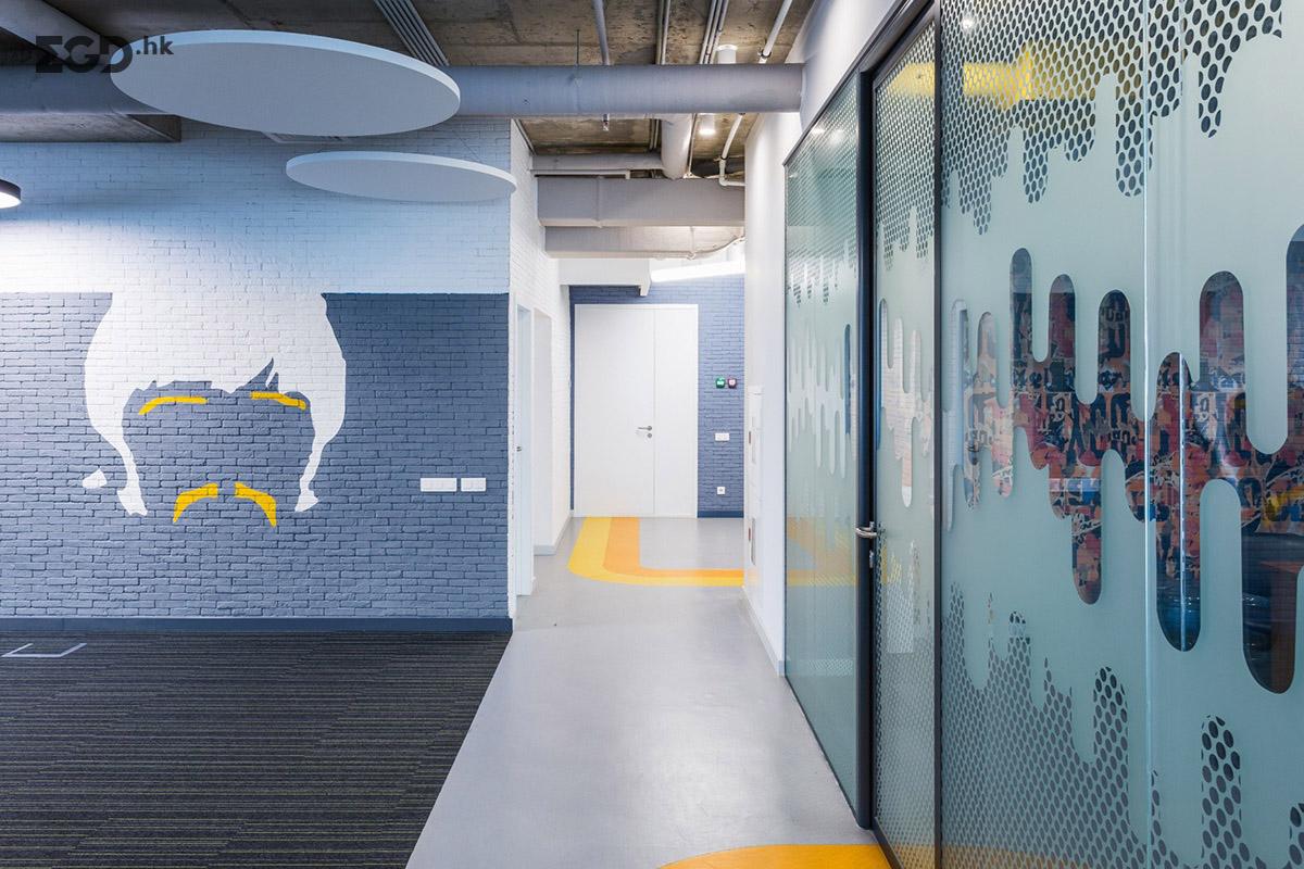 能源公司Energoporm新的办公室环境艺术 © IND OFFICE