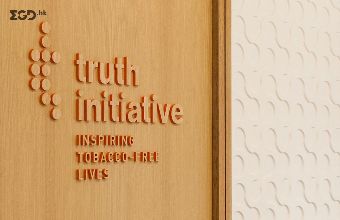 Truth Initiative华盛顿总部办公室图形设计 © Graham Hanson Design