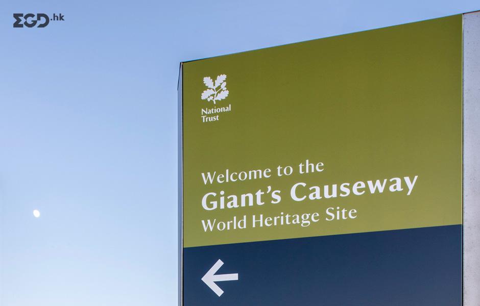 Giant's Causeway游客中心导视系统设计 © Thomas.Matthews