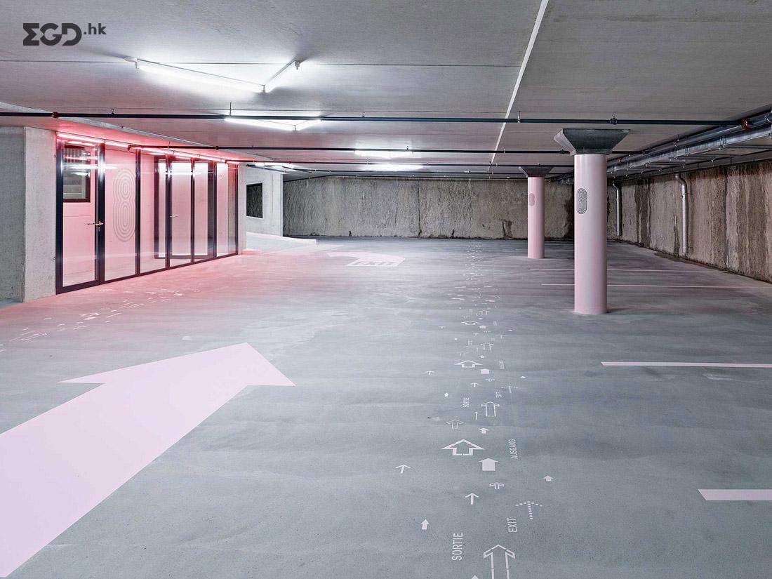 Parking Obere Schüsspromenade Biel/Bienne© superbuero