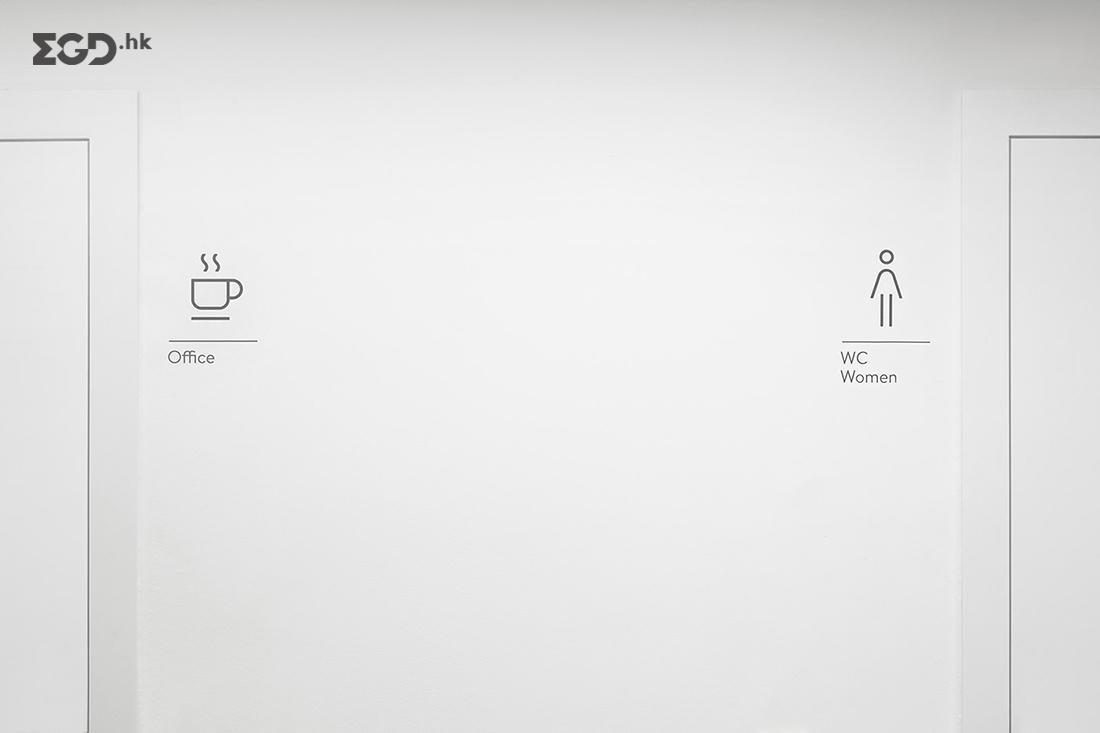 SIMON总部办公室图形标识系统设计 © FORMA