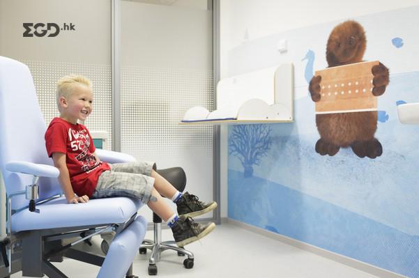朱丽安娜儿童医院EGD环境图形设计 © tinker