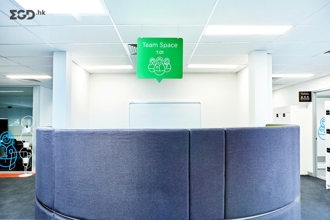 Casey Council办公室标识系统设计 © studiobinocular
