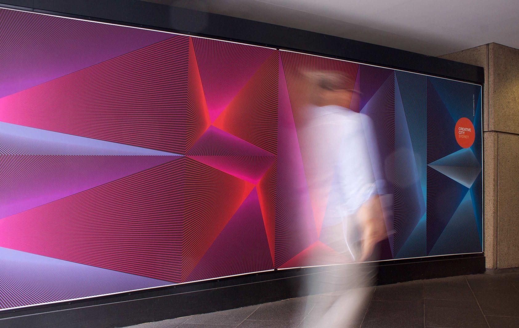 Hoarding design scheme   © Design by Toko