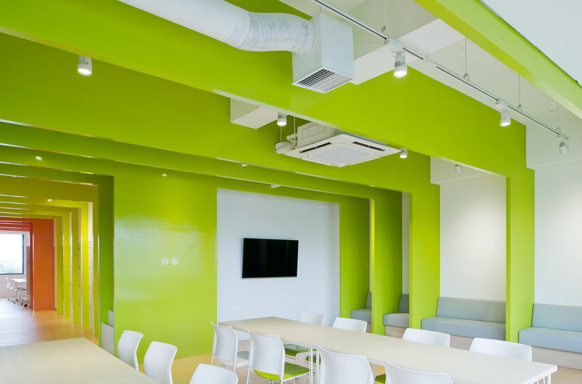 MITO心理诊所导视设计、空间图形设计、标牌设计、医院导视设计 © mangekyo