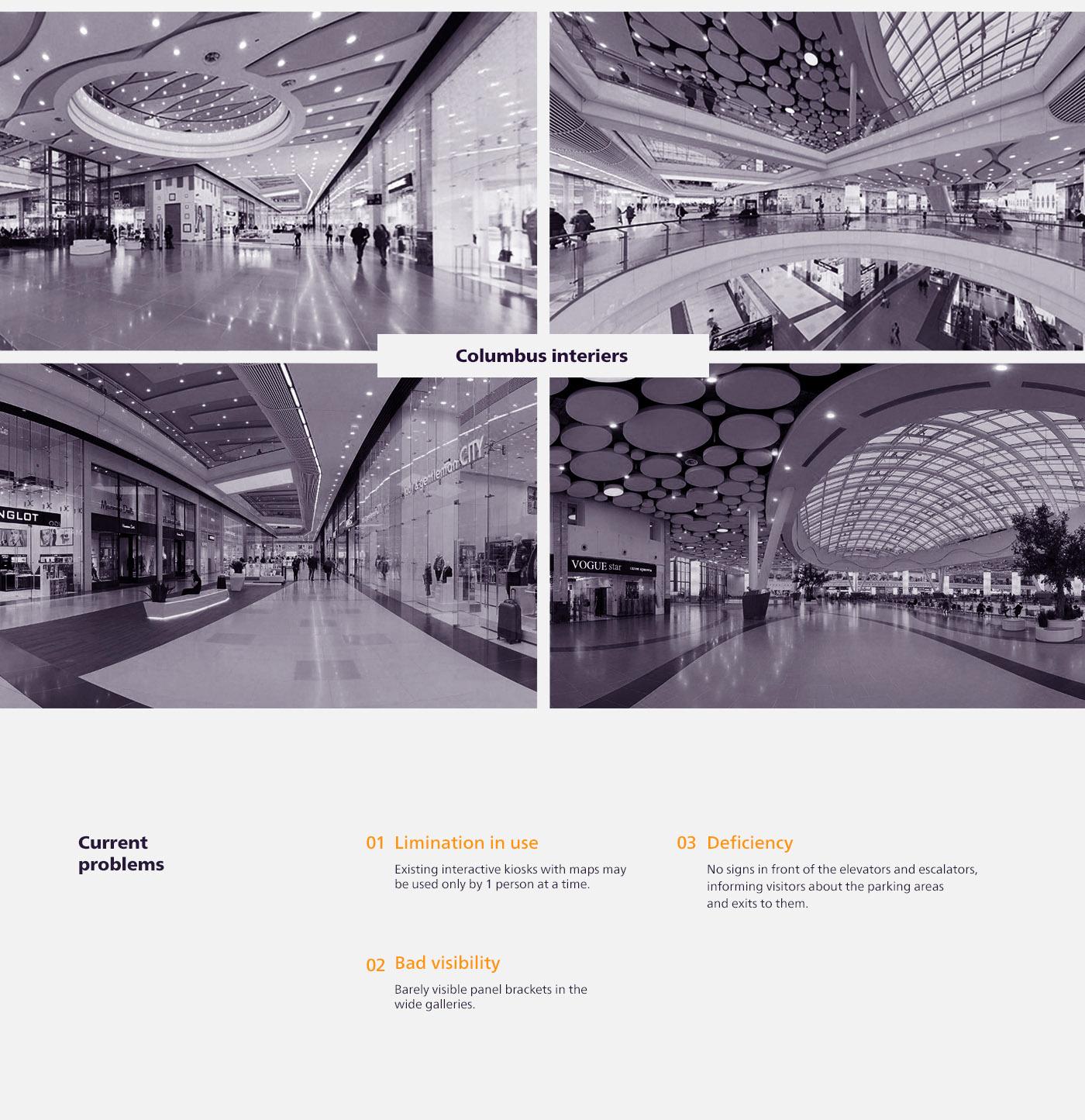 Columbus购物中心导视设计