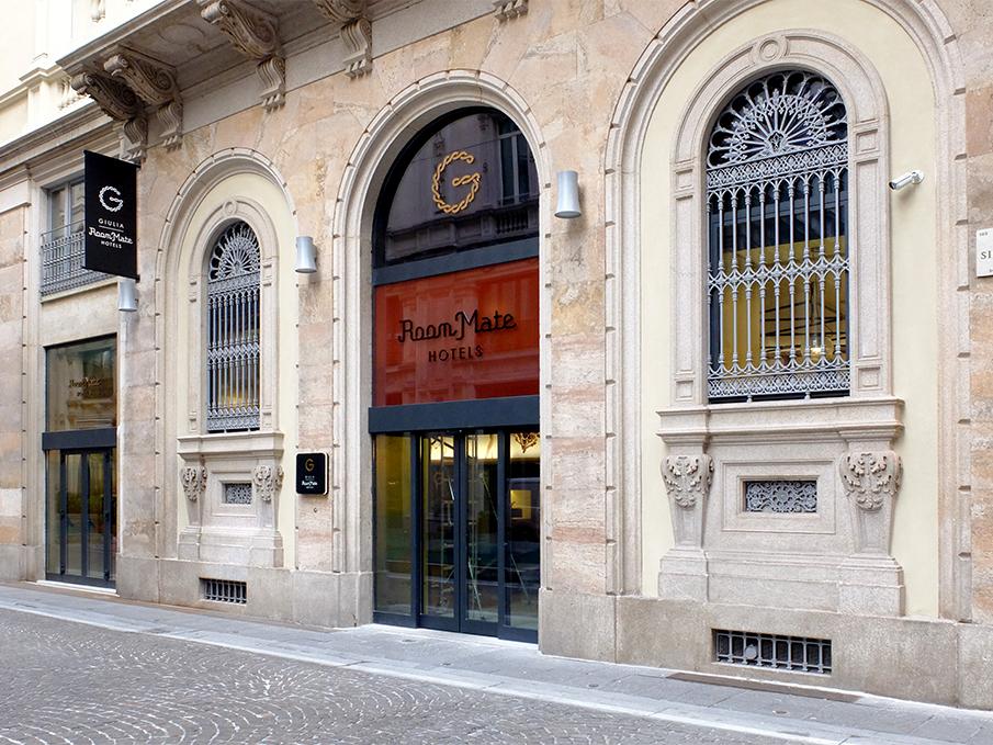 Giulia酒店导视设计 © costariol
