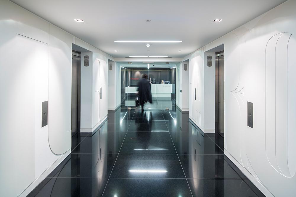 Gensler伦敦办公室EGD环境图形设计© Gensler London Graphic Team