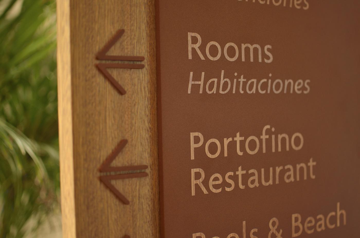 帕拉蒂姆大酒店导视设计 © Mas Infinito