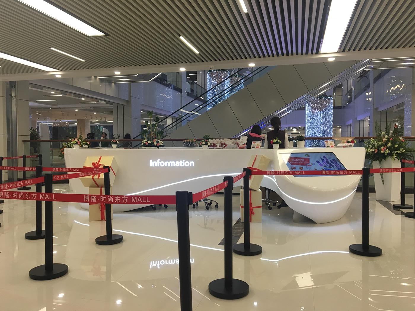 博隆广场•时尚购物中心导视系统设计 © 随喜设计