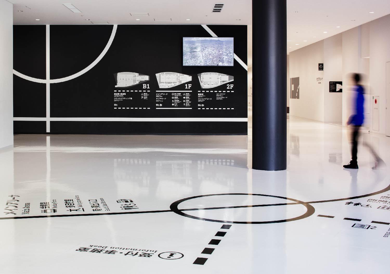 日本高崎球馆导视设计 © ujidesign