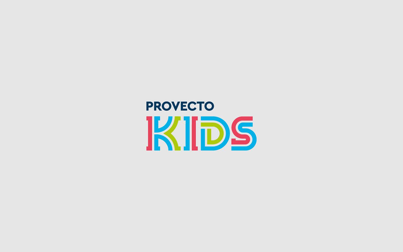Provecto学校品牌形象及环境导视设计 © Vibri Design & Branding