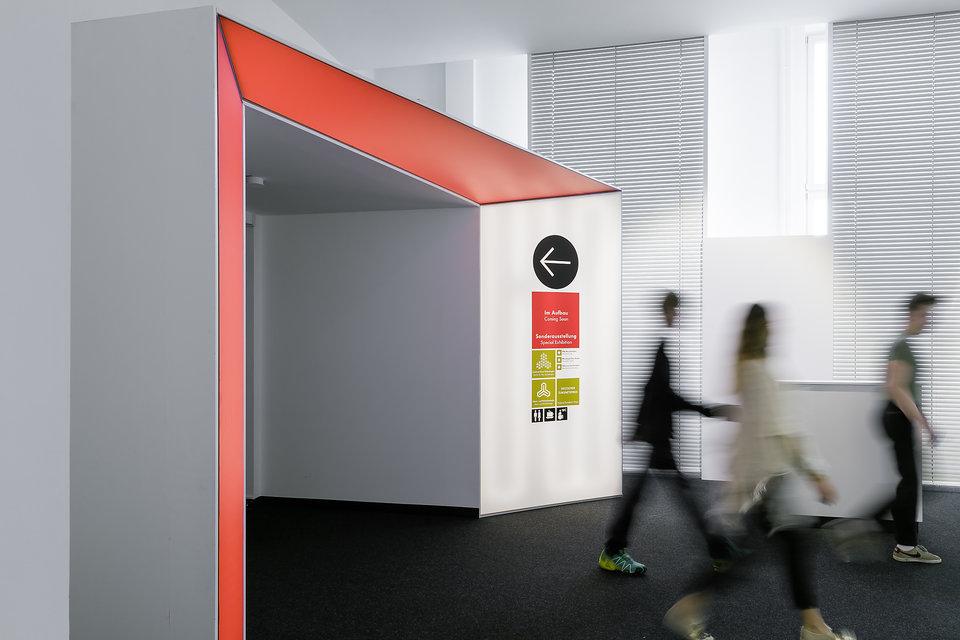德意志博物馆导视设计 © moniteurs