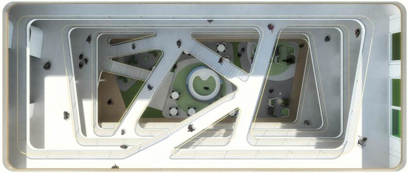 EGD,乌得勒支大学生命科学生命科学孵化器中心,空间图形设计 © silo