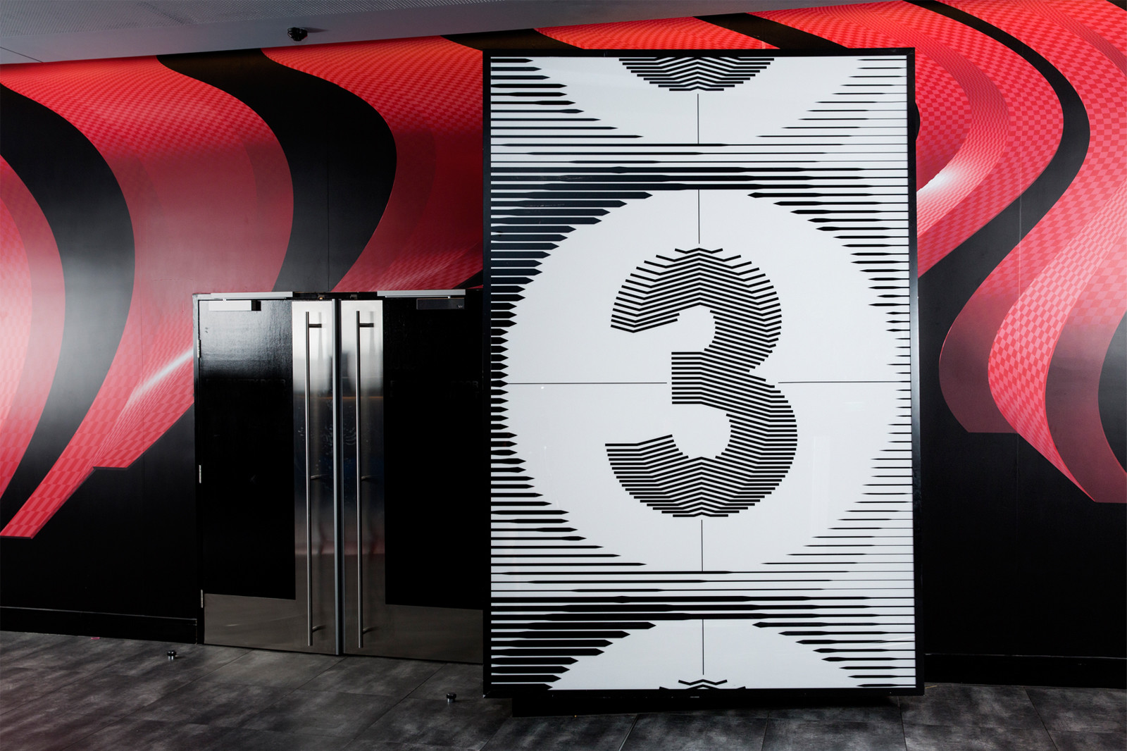 Event Cinemas影院指示系统 © Deuce Design