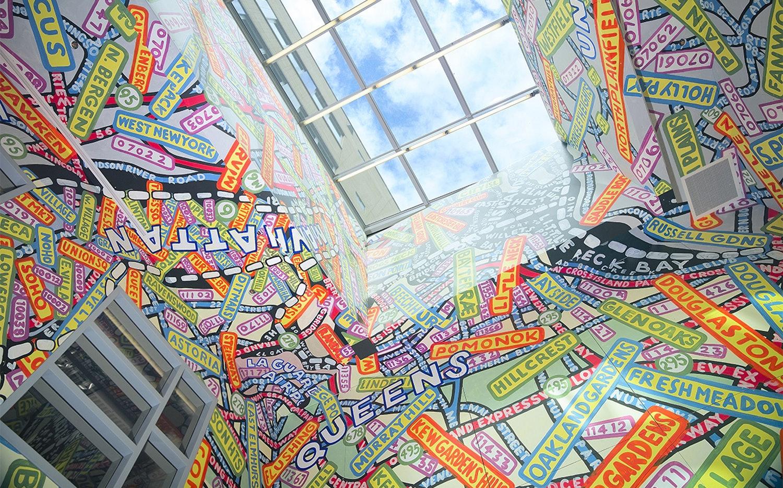 Queens Metropolitan Campus © Paula Scher