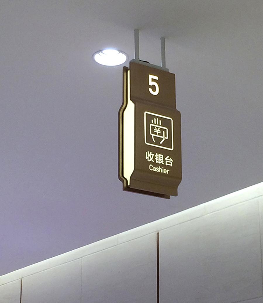 曼巴特购物广场导视,商业导视,购物中心导视,综合体标识设计