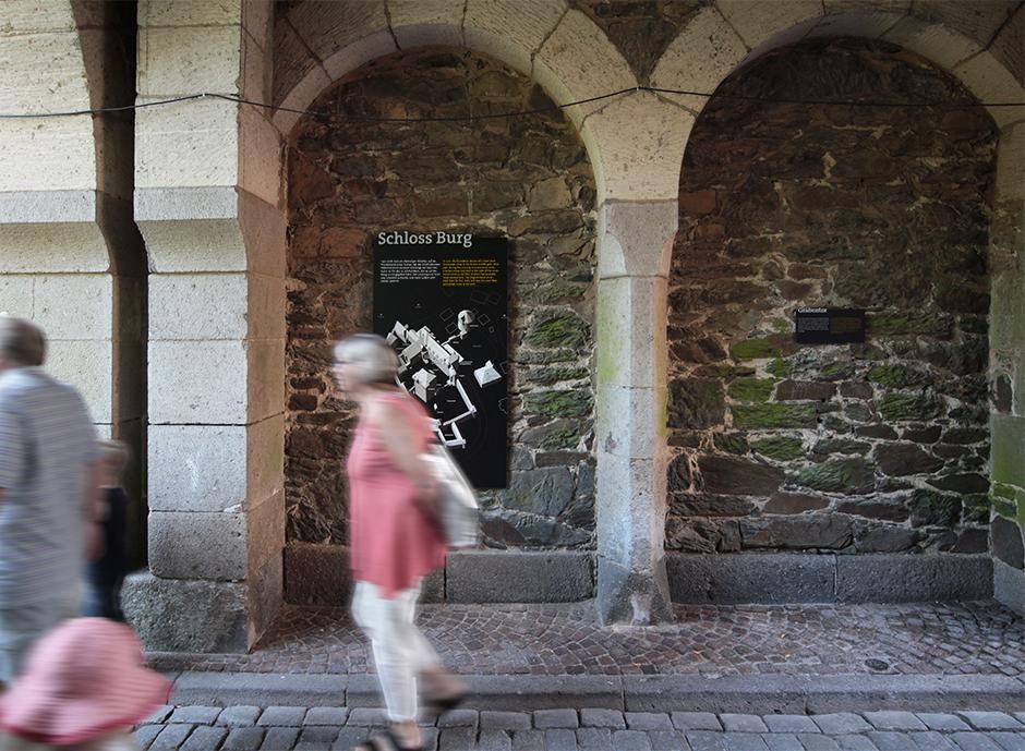古城堡(Schloss Burg)导视系统设计@n-t-k