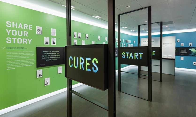 访客中心展览空间设计@Matthews