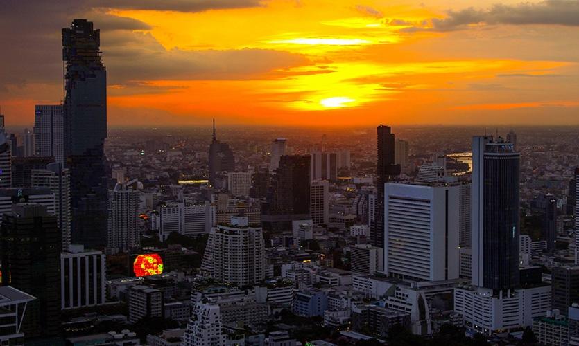 MahaNahkon摩天楼环境图形设计@Pentagram