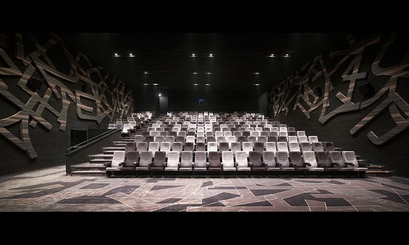 新唐万科摩尔国际电影城空间设计@One Plus
