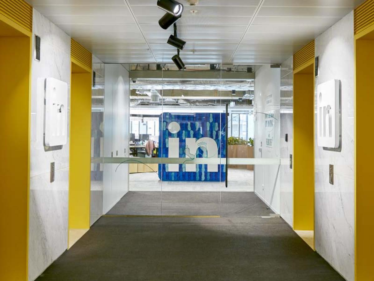 领英新总部标识系统设计©THERE