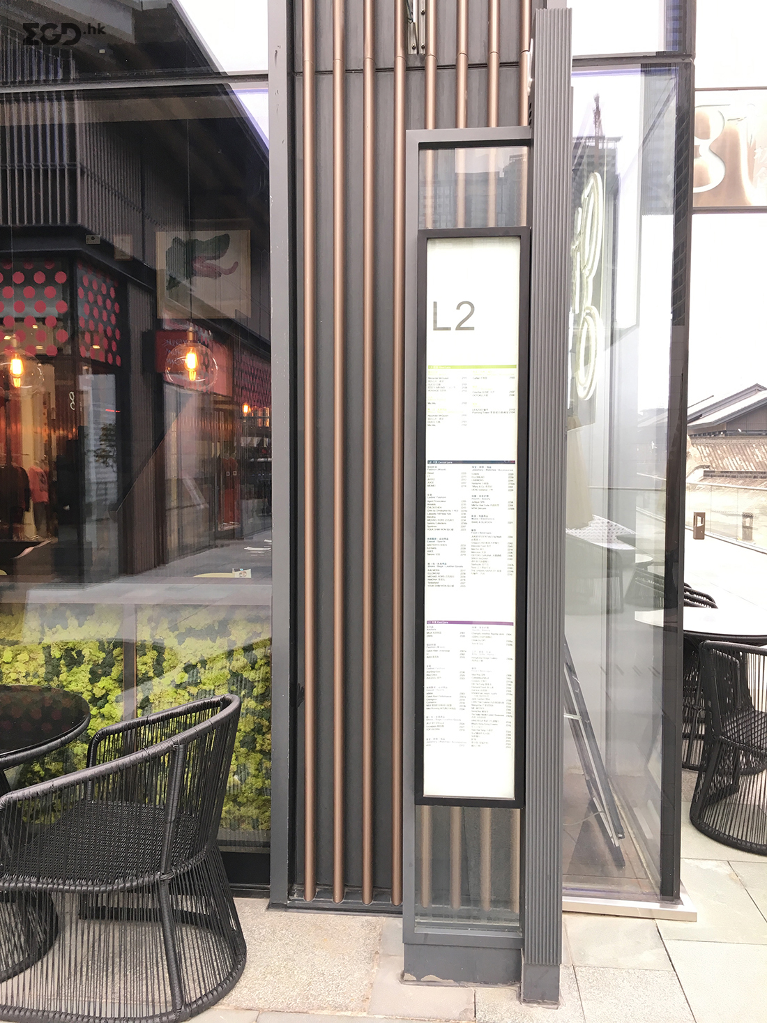 太古里导视,太古里标牌,太古里标识,太古里指示系统,成都购物中心导视设计,商业标识,商场标牌,购物广场导视,商业综合体导视 © EGD行走专辑