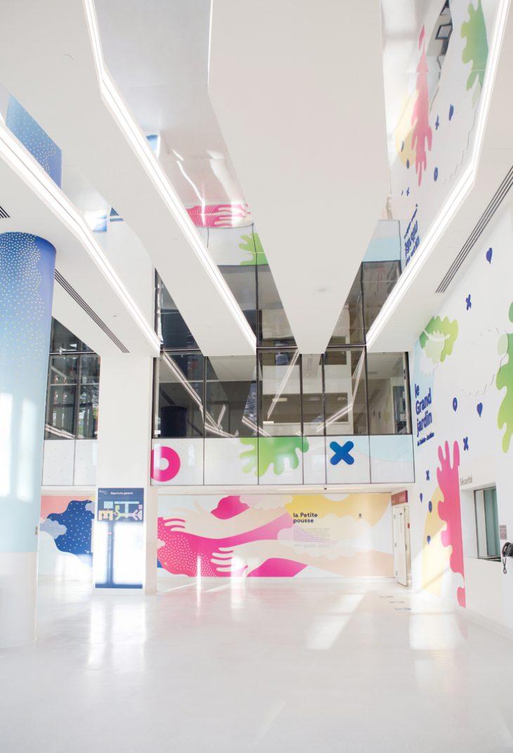 蒙特利尔大学附属圣贾斯汀医院环境空间设计©cindyboycephoto