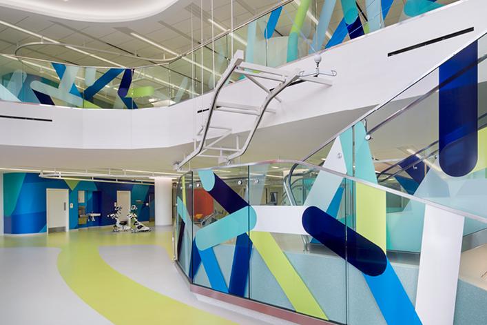 Shirley Ryan AbilityLab 环境视觉系统规划设计©eggoffice