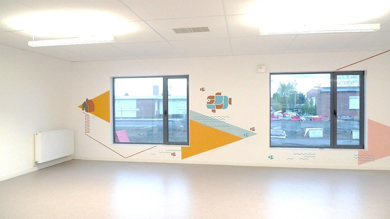 托儿所室内环境图形设计©studiocorpus