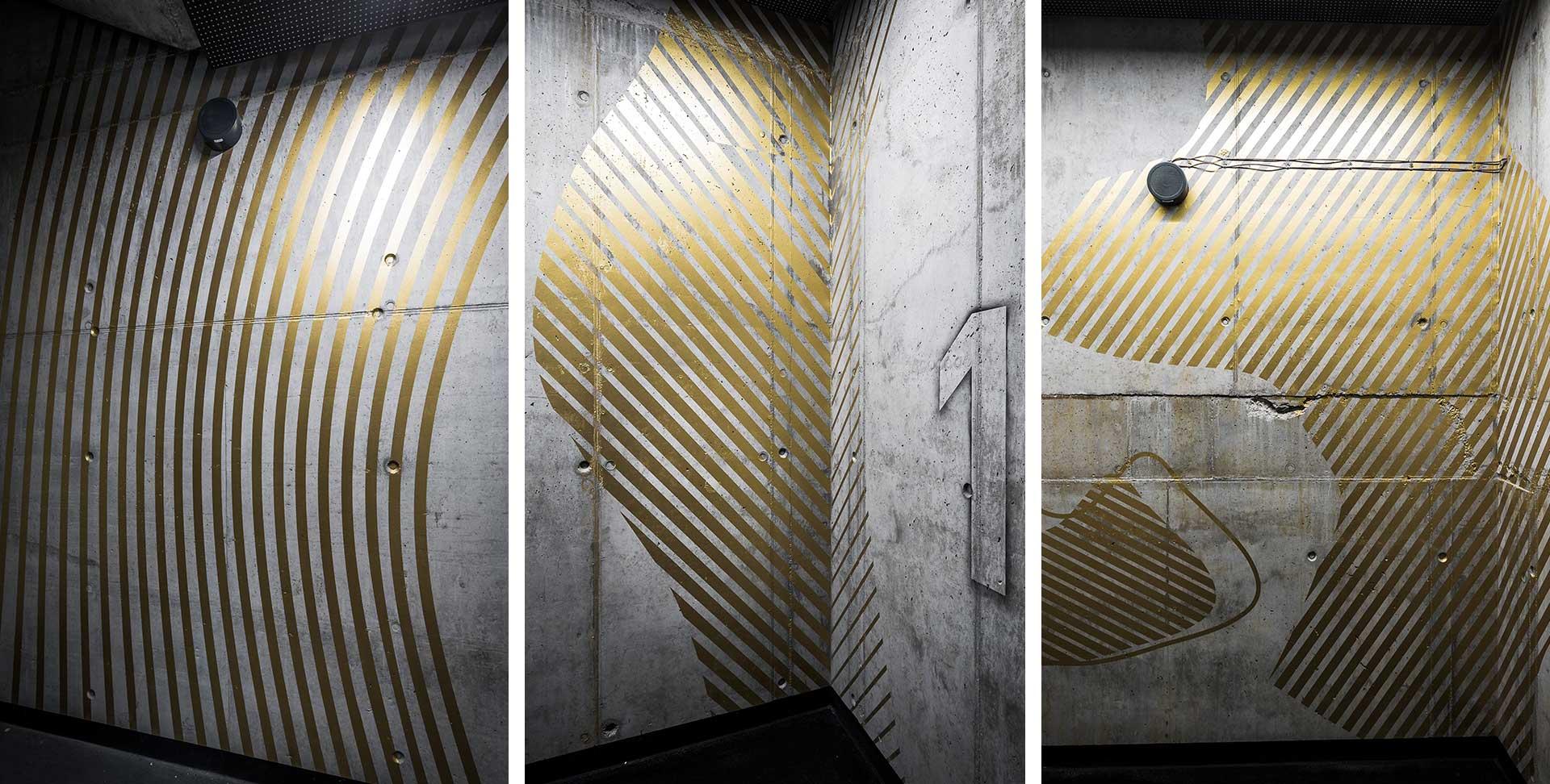 Hala Koszyki室内环境图形设计©kolektyf