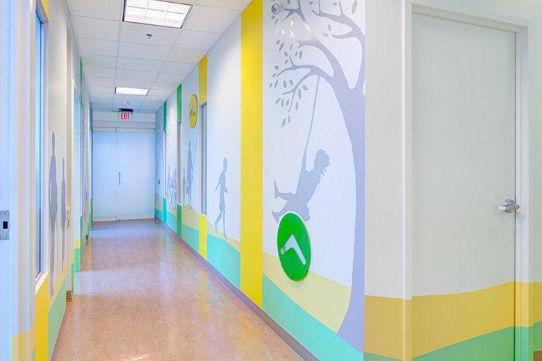 多伦多病童医院康复中心空间环境设计©archilovers
