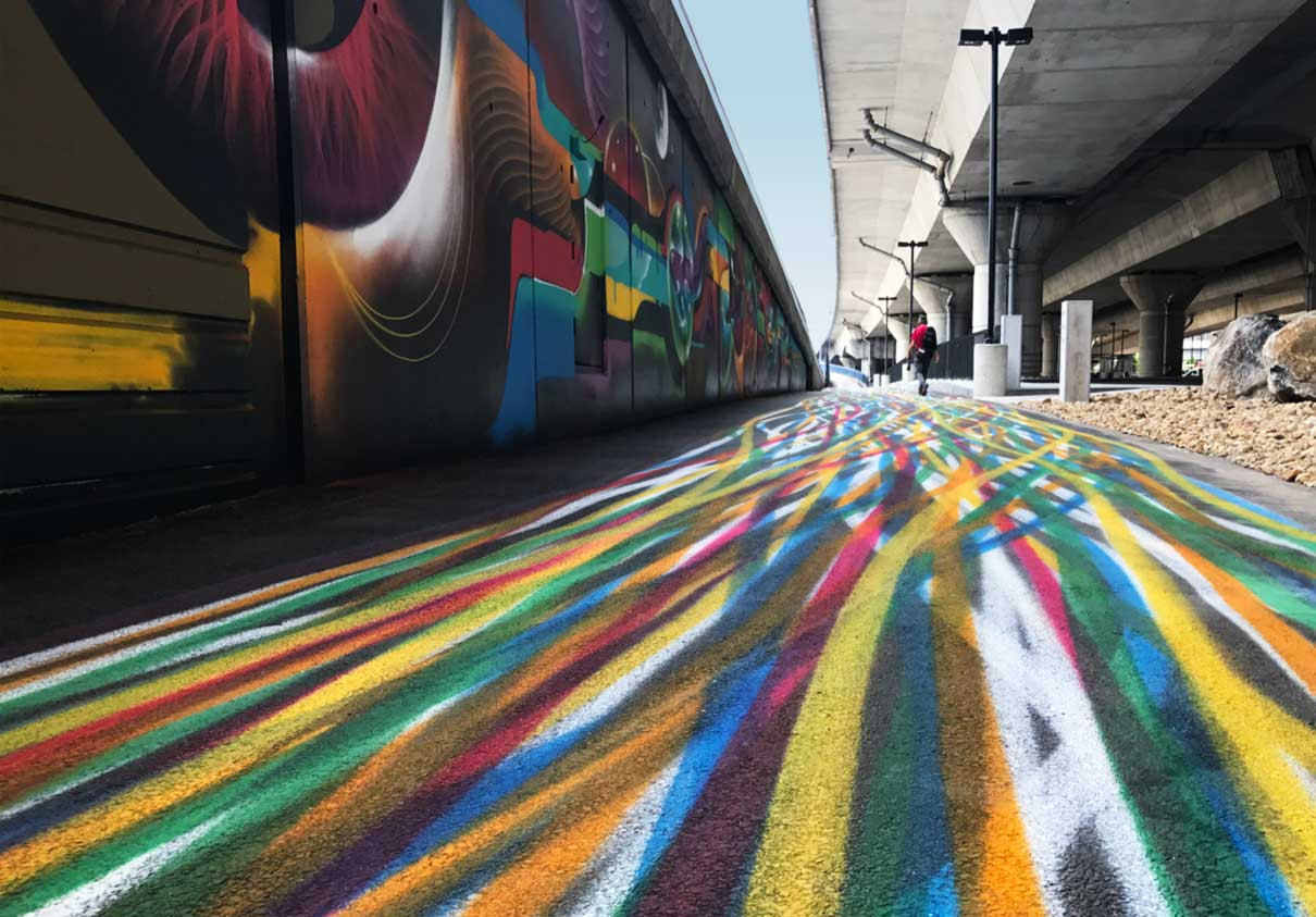 地下道路环境图形设计©visualdialogue
