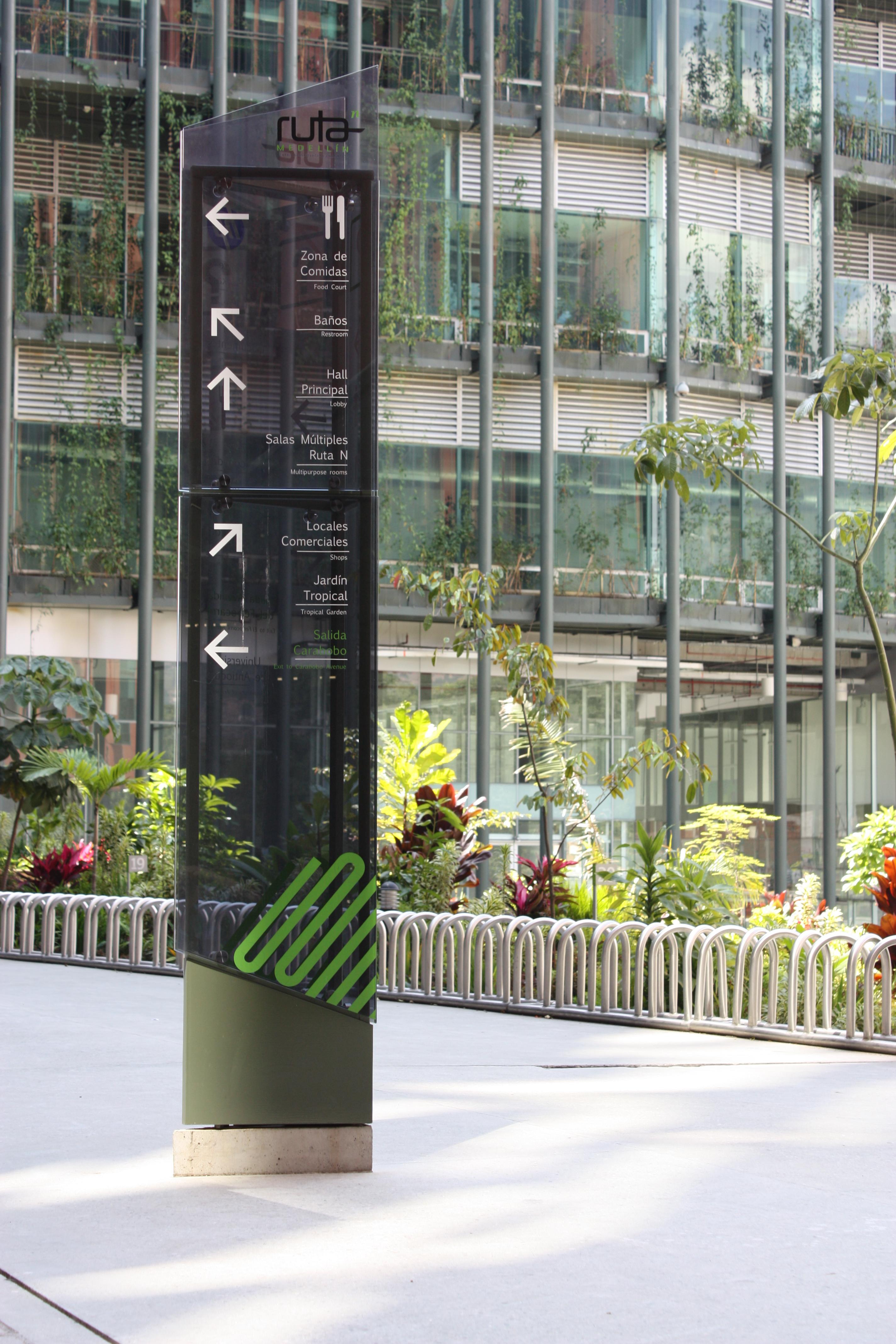 Ruta N 综合楼导视系统规划设计©eyemarca