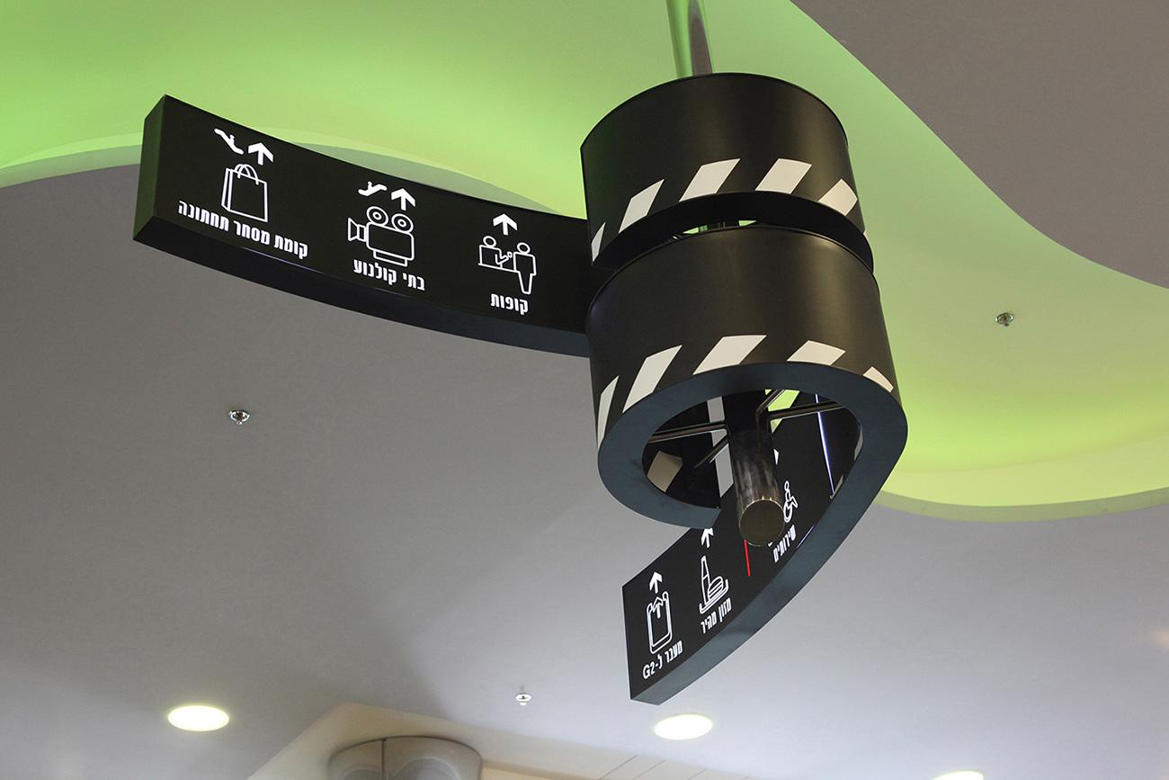 里雄莱锡安电影城导视系统设计©saz