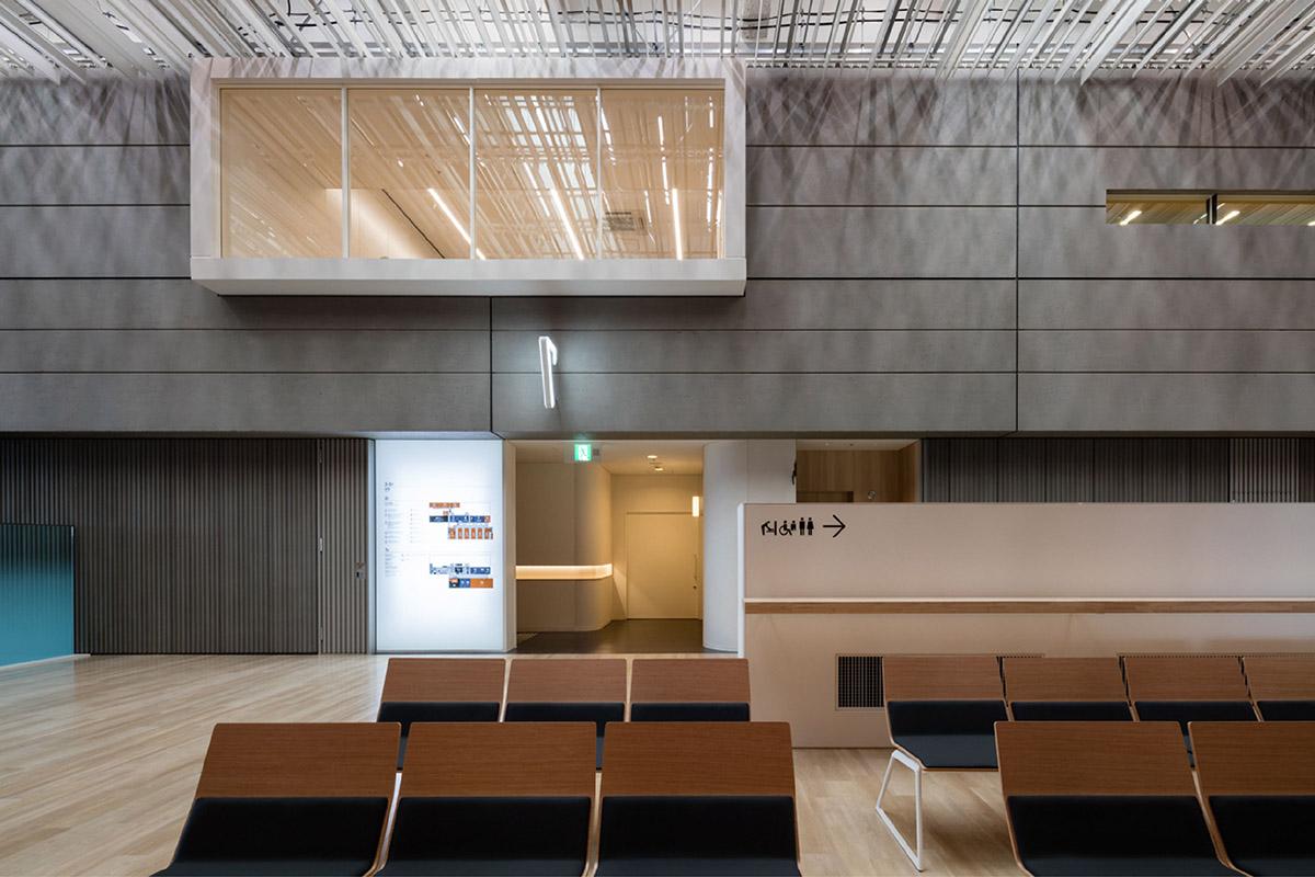 立川综合医院导视系统设计©有限会社エモーショナル・スペース・デザイン