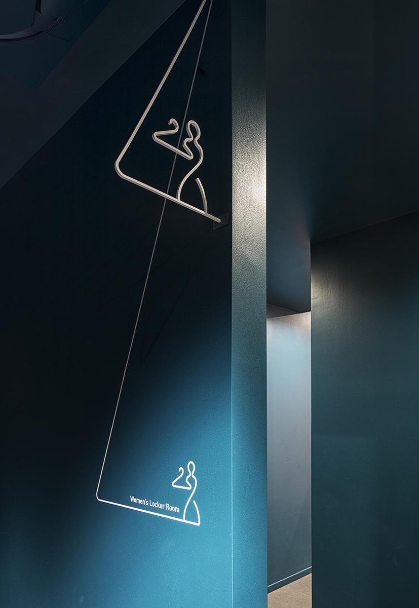 lealea横滨东口店标识系统设计©ホッキョク:藤井北斗