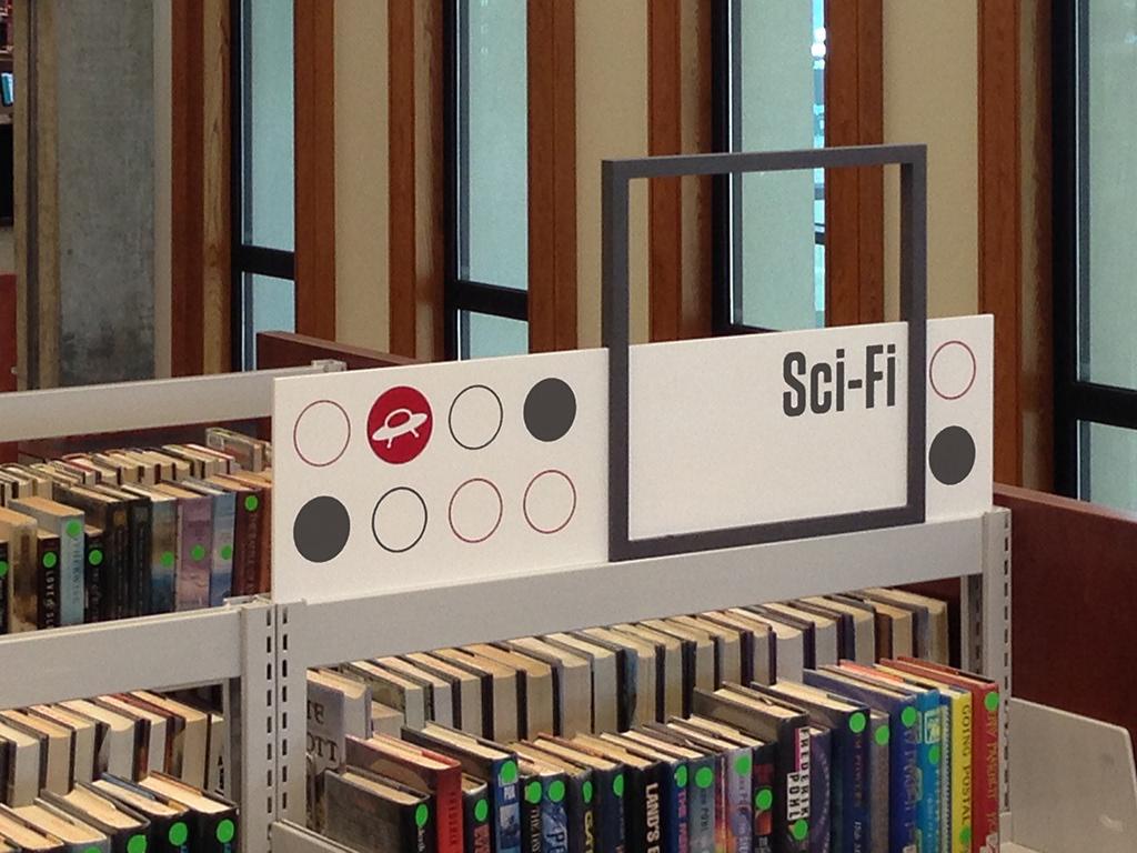 博伊登图书馆环境图形设计©mudeostudio