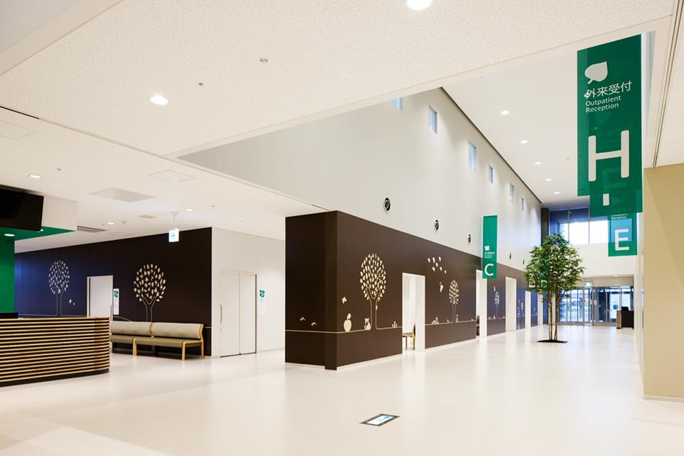 福冈市儿童医院环境图形设计© shimazu-eg