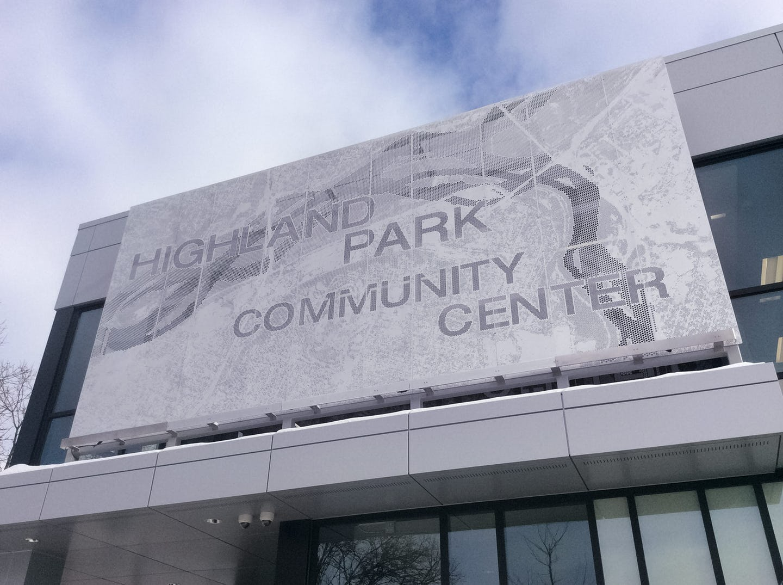 高地公园社区中心标识系统设计©azahner
