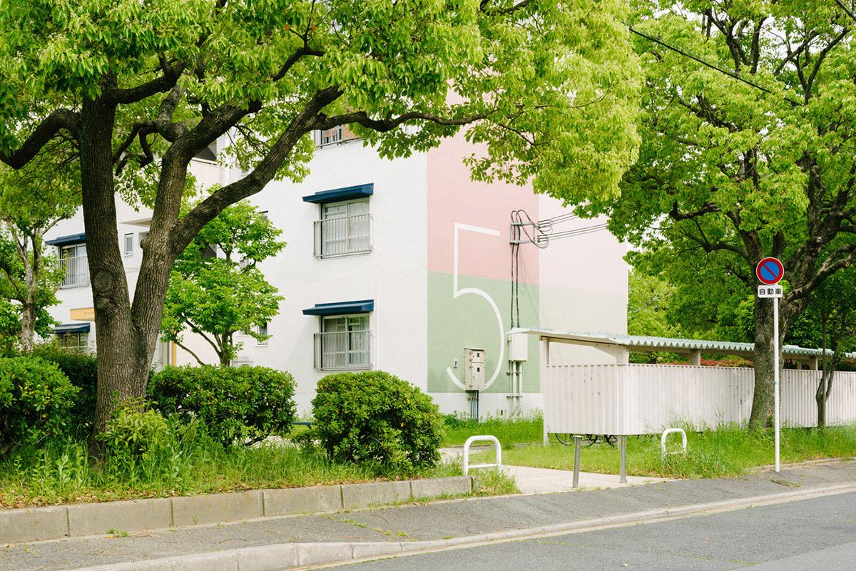鳥飼野々二丁目住宅区标识系统设计©UMA/design farm