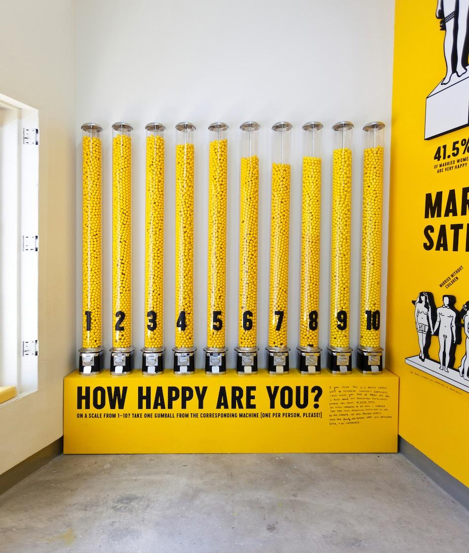 """施德明""""快乐秀""""平面设计©Stefan Sagmeister"""