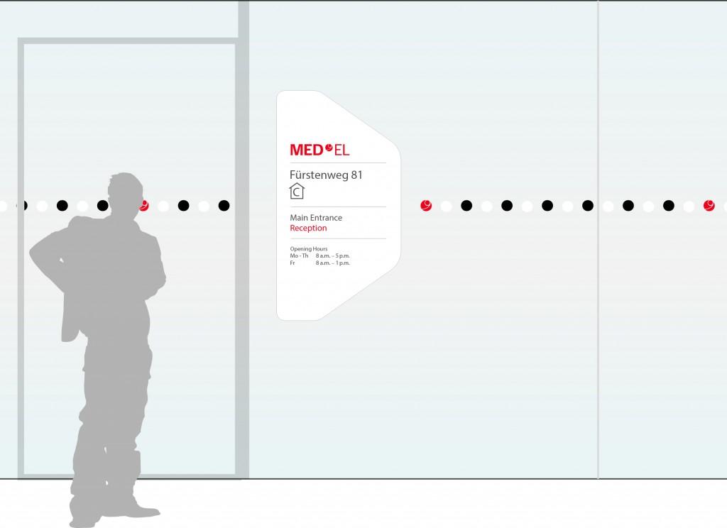 奥地利听力植入公司导视系统设计©motasdesign