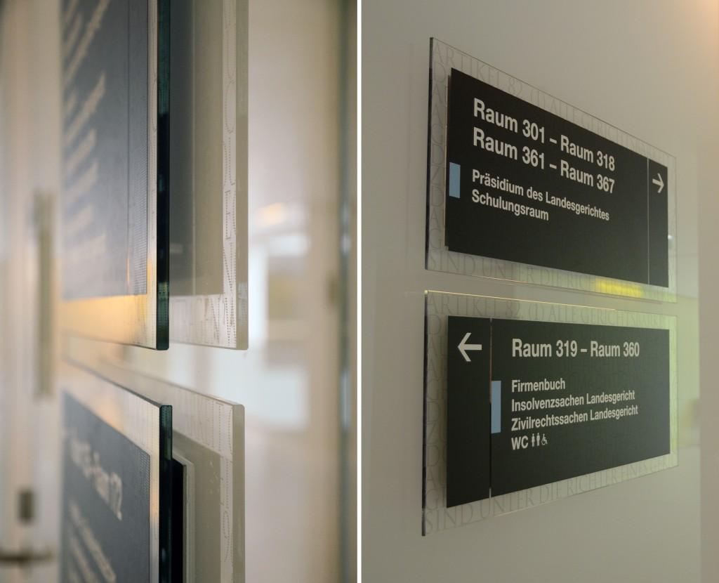 科尔新堡司法中心导视系统设计©motasdesign