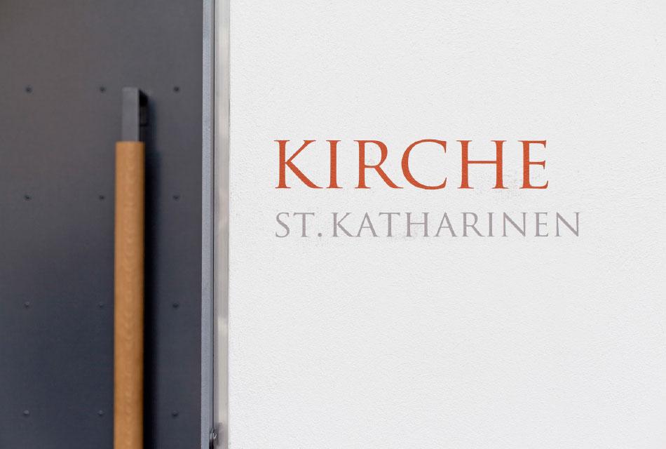 圣凯瑟琳教堂标识系统设计©feinform