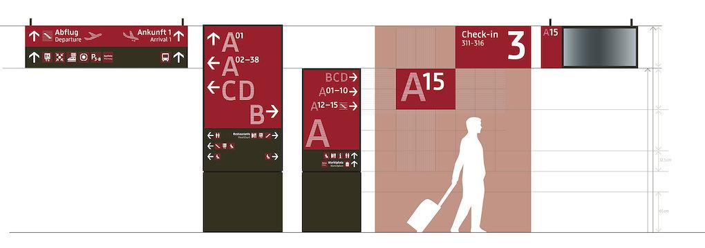 柏林勃兰登堡机场导视系统设计©moniteurs