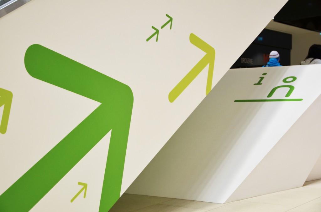 因斯布鲁克West购物中心导视系统设计 © motasdesign